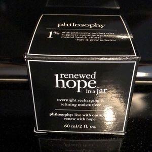 Philosophy Renewed Hope in a Jar-Overnight
